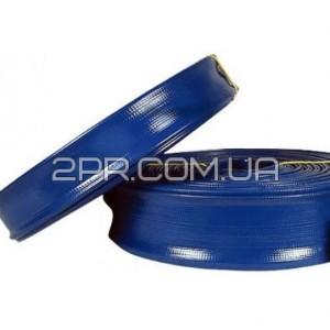 Рукав синій фекальний Ø50мм.50м Erman