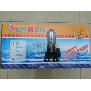 Насос нікелевий без поплавка WQD10-8-0.55D Erman