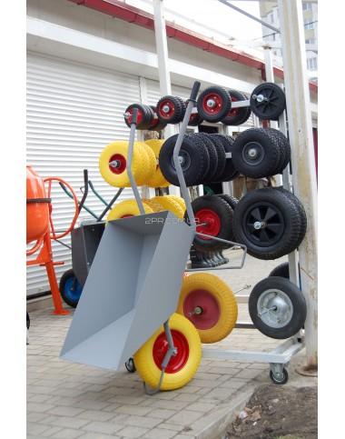 Тачка будівельна (Україна) з пневматичним колесом