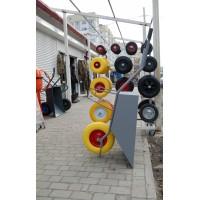 Тачка будівельна (Україна)  з поліуретановим колесом