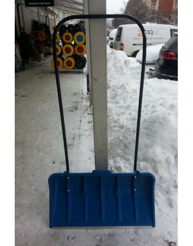 Лопата снігова 780х415 на роликах Польща фото