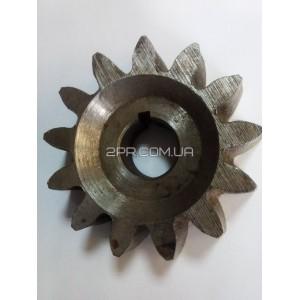 Шестерня бетонозмішувача 13 зубів, внутрішній діаметр 28 мм, Адес