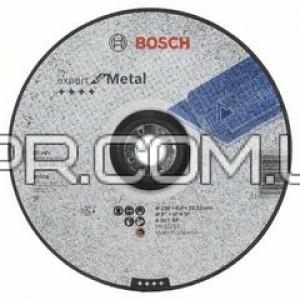 Круг зачисний по металу 230х6.0 Type27 Bosch