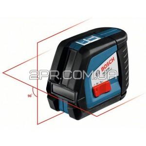 Нівелір лінійний лазерний GLL 2-50 + BM1 (новий) + L-Boxx, Bosch