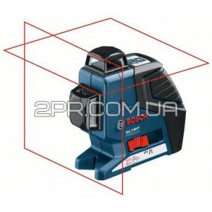 Нівелір лінійний лазерний GLL 2-80 P + BM1 (новий) + LR2 в L-Boxx, Bosch
