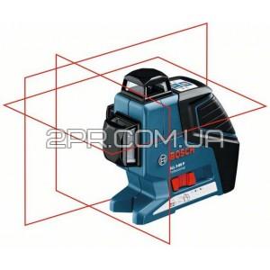 Нівелір лінійний лазерний GLL 3-80 P + BM1 (новий) в L-Boxx, Bosch