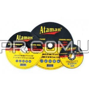 Круг зачисний по металу 125х6.0 Type1 Ataman