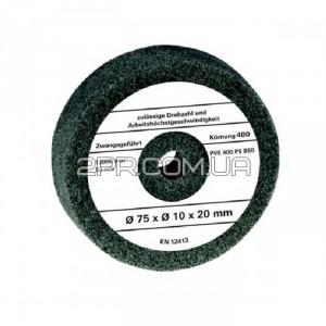 Полірувальний диск для точила 75x10x20 мм Einhell (4412620)