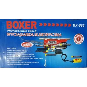 Тельфер електричний 400/800 кг BX-563 BOXER фото