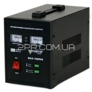 Стабілізатор напруги MAX-1000VA Forte