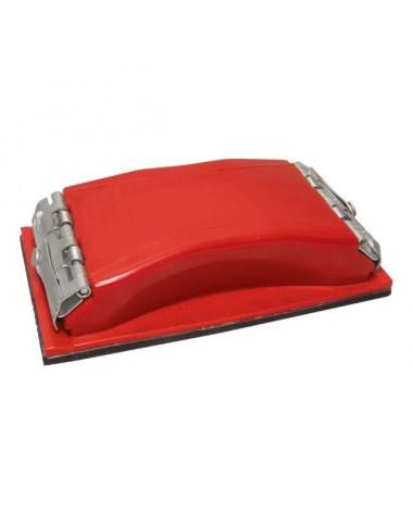 Брусок для шліфування 85 * 165мм, металевий затиск для швидкої і надійної фіксації HT-0001 INTERTOOL