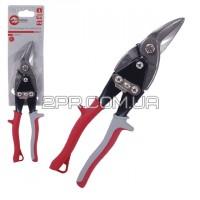Ножиці по металу 250мм ліві Cr-V HT-0178 INTERTOOL