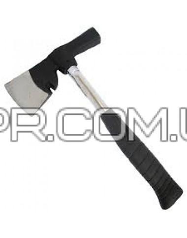 Сокира монтажника 600г, металева ручка HT-0260