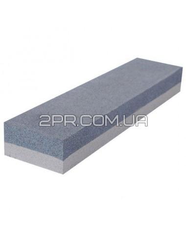 Брусок абразивний двосторонній 150 х 50 х 25 мм К120, К240 HT-0551 INTERTOOL