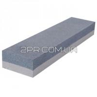 Брусок абразивний двосторонній 200 х 50 х 25 мм К120, К240 HT-0552 INTERTOOL