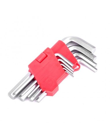 Набір ключів Г-подібних шестигранних 9 шт.
