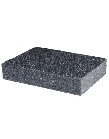 Губка для шліфування 100*70*25 мм, оксид алюмінію К60 HT-0906 INTERTOOL