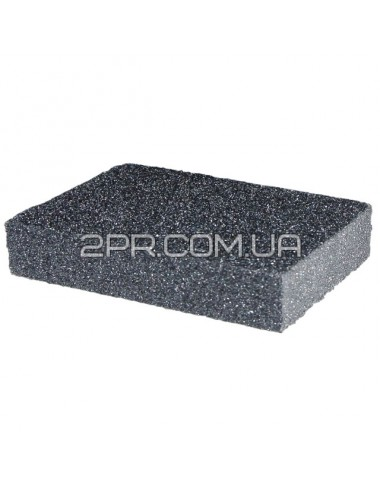 Губка для шліфування 100*70*25 мм, оксид алюмінію К180 HT-0918 INTERTOOL