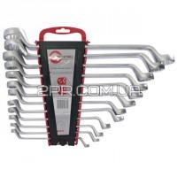 Набір ключів накидних 12од., 6-32мм Cr-V HT-1103 INTERTOOL