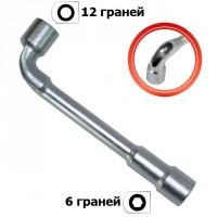 Ключ торцевий з отвором L-подібний 22мм HT-1622 INTERTOOL