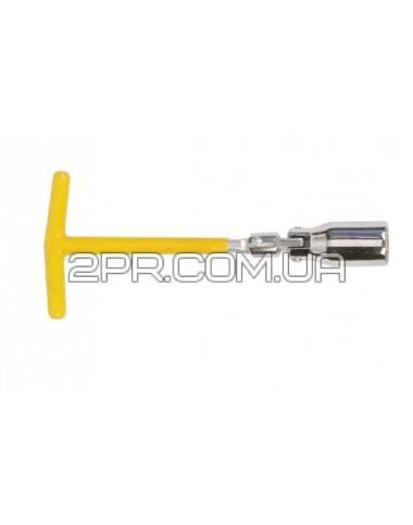 Свічковий ключ Т-подібний з шарніром 21мм HT-1721 INTERTOOL