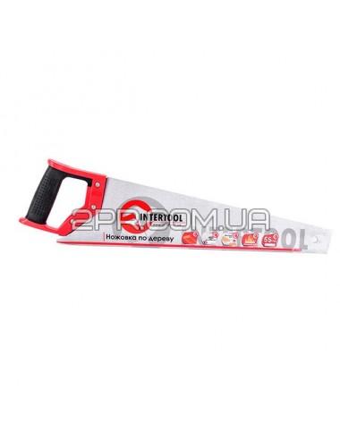 Ножівка по деревині з гартованим зубом 450 мм, 55 HRC HT-3102 INTERTOOL