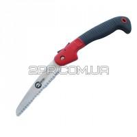 """Ножівка садова складна 180 мм, 7 зуб * 1 """", потрійна заточка HT-3142 INTERTOOL"""