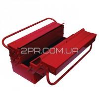 Ящик для інструментів 450мм, 3 секції HT-5043 INTERTOOL