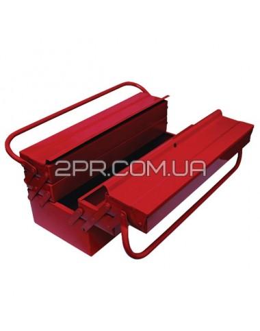 Ящик для інструментів 450мм, 5 секцій HT-5045 INTERTOOL