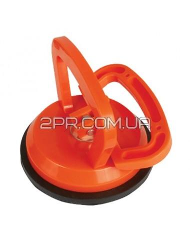 Тримач-присоска для скла одинарна 120мм, max 40кг HT-7101 INTERTOOL