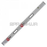 Правило-рівень 250см, 2 капсули, вертикальний і горизонтальний з ручками MT-2125 INTERTOOL