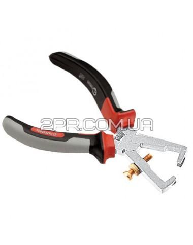 Гострозубці для зачищення проводів 160мм Cr V з ізольованими рукоятками PROF. NT-0229 INTERTOOL