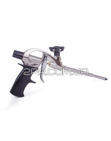 Пістолет для піни з тефлоновим покриттям тримача балона + 4 нас. PT-0604 INTERTOOL