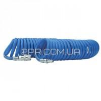 Шланг спіральний поліуретановий 6.5*10 мм, 5 м PT-1710 INTERTOOL