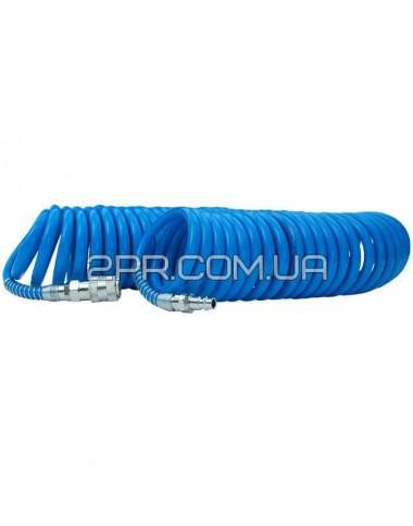 Шланг спіральний поліуретановий 6.5х10мм, 10м PT-1711 INTERTOOL