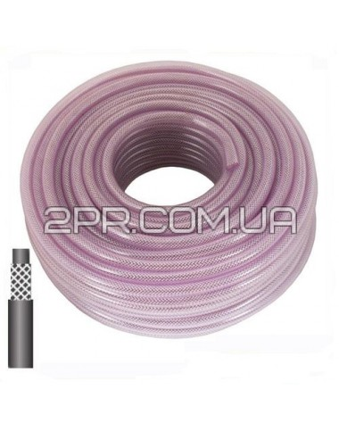 Шланг PVC високого тиску армований 10мм PT-1742M INTERTOOL