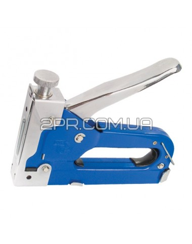 Механічний скобозабивний пістолет під скобу 11.3 * 0.70 * 4-14 мм (синій) RT-0101