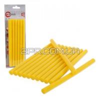 Стержень жовтий клейовий 11.2 мм * 200 мм RT-1021 INTERTOOL