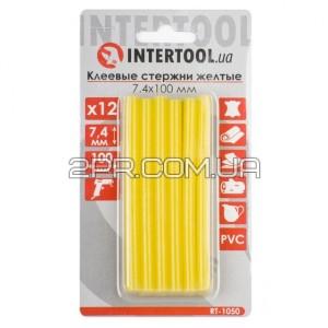 Комплект стержнів клейових жовтих 7,4 мм * 100 мм, 12 шт RT-1050 INTERTOOL