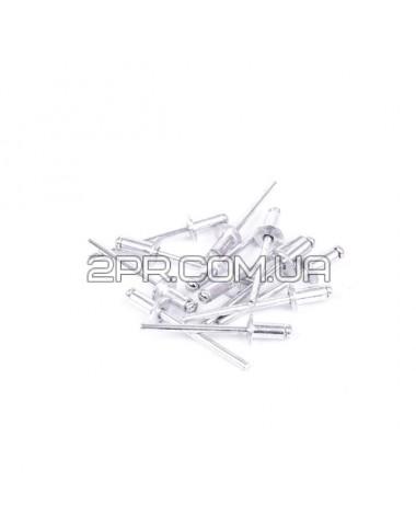 Заклепка алюмінієва 4.0*8.0мм, упаковка 50шт. RT-4008 INTERTOOL