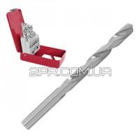 Набір свердл по металу HSS 19шт (1.0-10.0), полірована сталь SD-0119 INTERTOOL