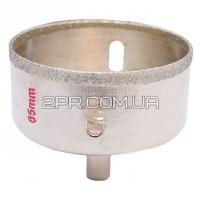 Коронка трубчаста по склу та кераміці 65 мм SD-0373 INTERTOOL