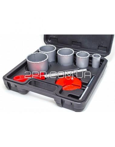 Набір корончатих свердл для плитки 5од. 33-83мм SD-0428 INTERTOOL