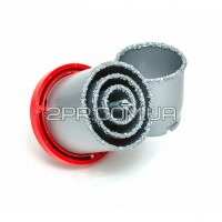 Набір корончатих свердл для плитки, 32-73 мм, 5 од.