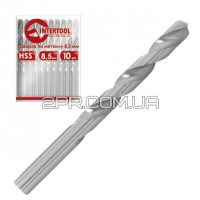 Свердло по металу DIN338 10.2мм HSS SD-5102 INTERTOOL