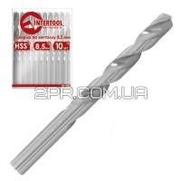 Свердло по металу подовжене DIN 340 8,5 мм HSS SD-5285 INTERTOOL