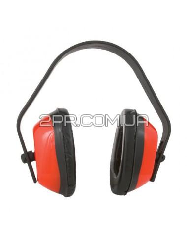 Навушники шумознижувальні з пластмасовими ручками SP-0024 INTERTOOL