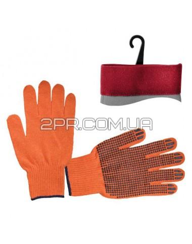 Рукавиці трикотажні з точковим покриттям ПВХ SP-0131 INTERTOOL