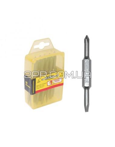 Комплект насадок для викруток PH2/SL6 мм 4 в 1 (10шт./упак.) VT-0062 INTERTOOL