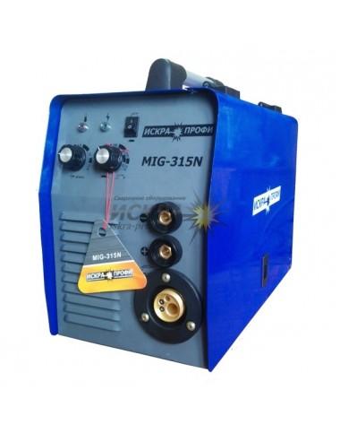 Напівавтомат інверторний MIG/MMa-315N Іскра-Профі